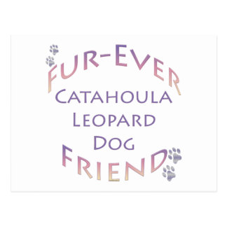 Catahoula Leopard Dog Furever Postcard