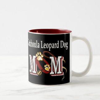Catahoula Leopard Dog MOM Gifts Two-Tone Coffee Mug