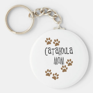 Catahoula Mom Keychain