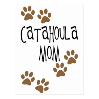 Catahoula Mom Postcard