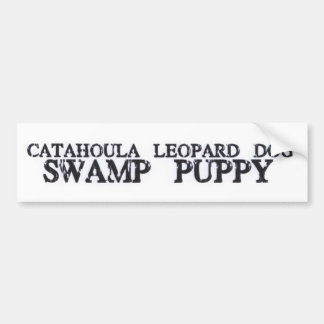 Catahoula Swamp Puppy Bumper Sticker