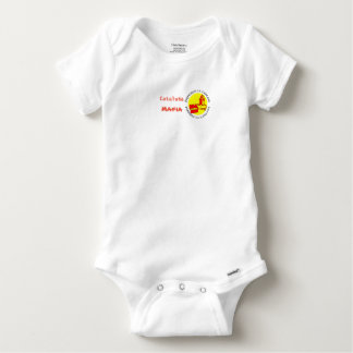 Catalan bodystocking baby Mafia Baby Onesie