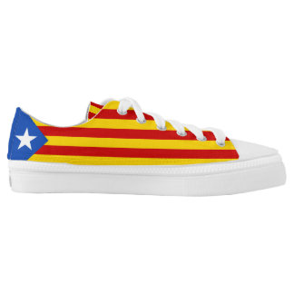 Catalan Flag Catalonia Low-Top Sneakers