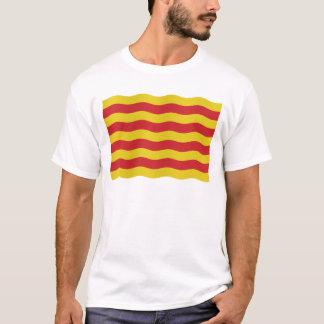 Catalan flag - transparent background T-Shirt
