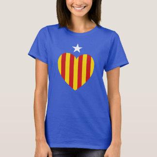 Catalan Heart Flag T-Shirt