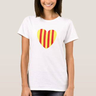 catalan heart T-Shirt