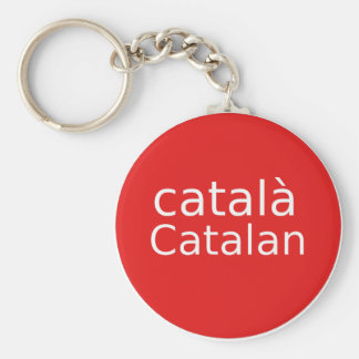 Catalan Language Design Keychain