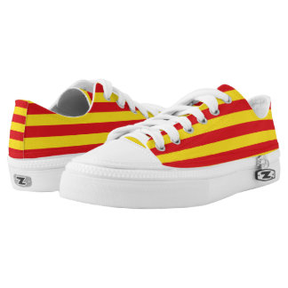 Catalan Pride Flag Low-Top Sneakers
