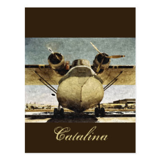 Catalina 1942 postcard