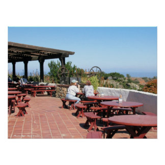 Catalina Airport Cafe Poster