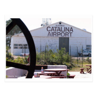 Catalina Airport Postcard