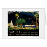 Catalina by Otis Shepard, c. 1935.  Greeting Card