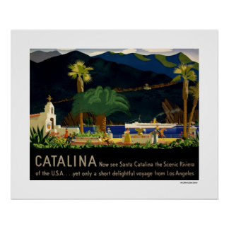 Catalina by Otis Shepard, c. 1935. Poster