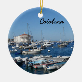 Catalina, California Ceramic Ornament