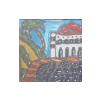 Catalina Casino Tile Marble Magnet