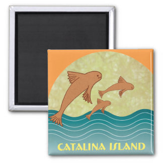 Catalina Flying Fish Magnet