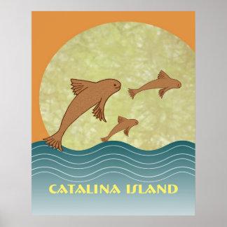 Catalina Flying Fish Poster