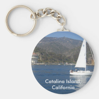 Catalina Island, California Keychain