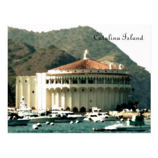 Catalina Island Casino Postcard