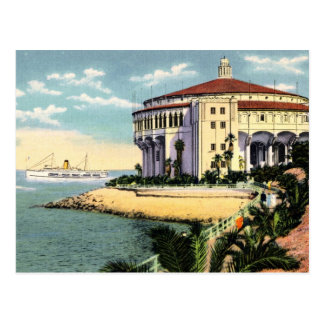 Catalina Island Casino Postcard