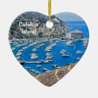 Catalina Island Ceramic Ornament