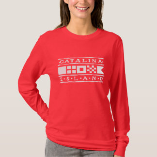 Catalina Island Ladies Long Sleeve Fashion Shirt