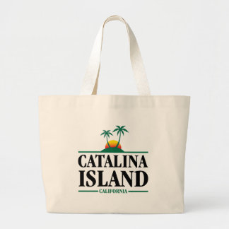Catalina Island Large Tote Bag