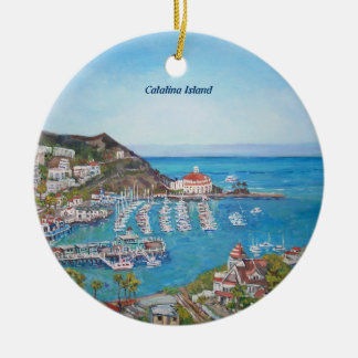Catalina Island - Oval Ornament