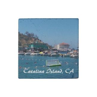 Catalina Island Stone Magnet