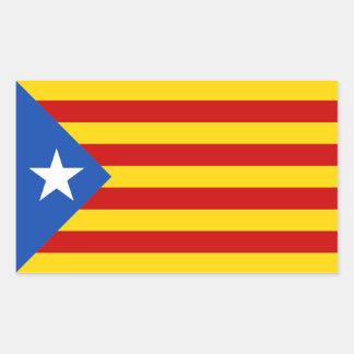 Catalonia Estrellada Flag Sticker