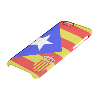 Catalonia flag clear iPhone 6/6S case