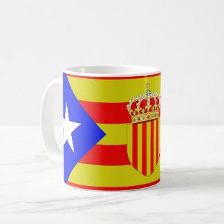 Catalonia flag coffee mug