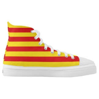 Catalonia Flag High Tops
