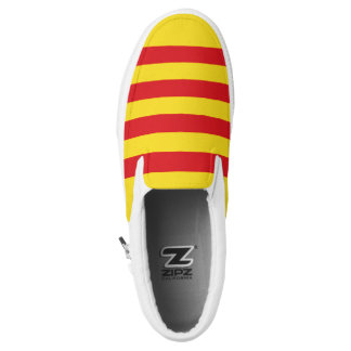 Catalonia Flag Slip-On Sneakers