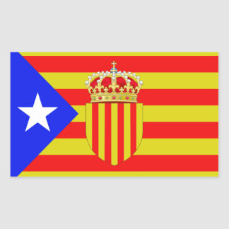 Catalonia flag sticker