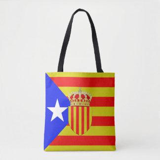 Catalonia flag tote bag