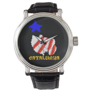 Catalonia freedom , Catalunya Relotge Watch, star Wrist Watches
