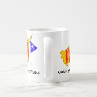 Catalonia, Frieden und Freiheit Coffee Mug