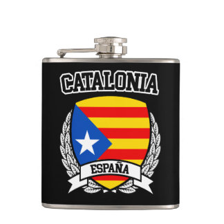 Catalonia Hip Flask