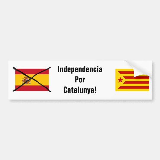 Catalonia Independence bumper sticker