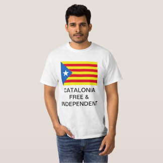 Catalonia Independence Shirt (English Ver.)