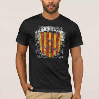 Catalonia Men's Dark Shirt
