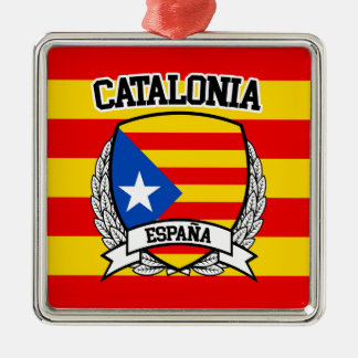 Catalonia Metal Ornament