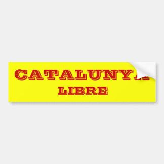 Catalunya* Libre Bumper Sticker