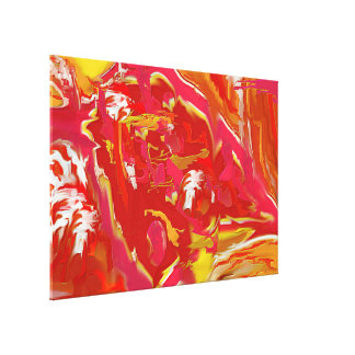 CATALYST Abstract Art, Extra Large Canvas Print