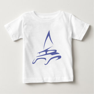 Catamaran in Swish Drawing Style T Shirts