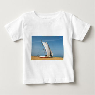 Catamaran, Negombo Beach, Sri Lanka Baby T-Shirt