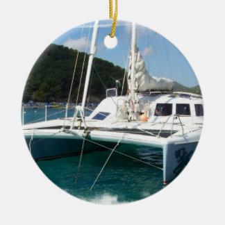 Catamaran Ornament