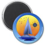 Catamaran Sailing Magnets