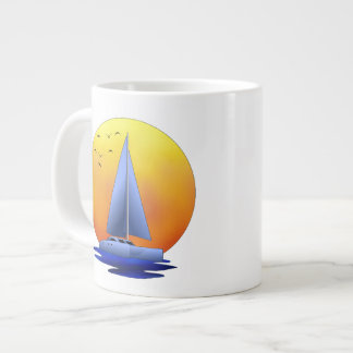 Catamaran Sailing Extra Large Mugs